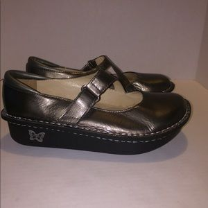 Alegria Dayna Mary Jane Clog Patent Leather